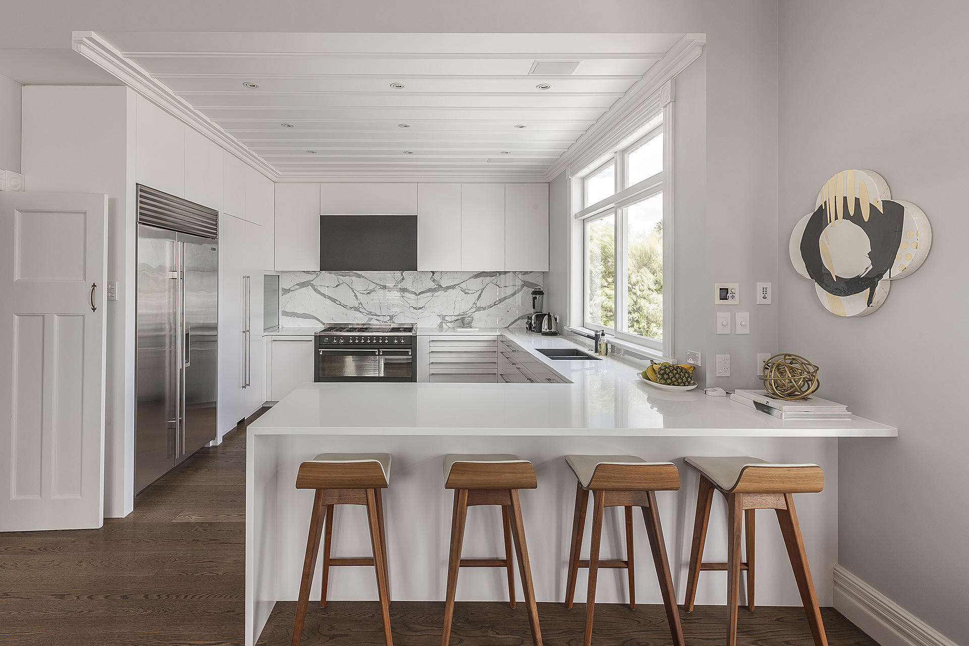 L Shaped Kitchens With Islands Seaview Tce Remuera Form Design
